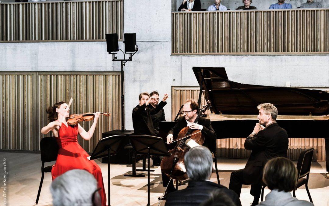 Debüt im Concertgebouw Brügge