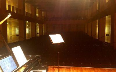 Debüt im Robert-Schumann-Saal Düsseldorf